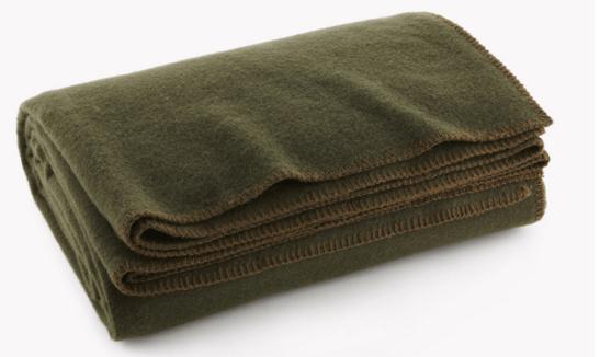 Faribault Pure Amp Simple Wool Blanket Old Forge Hardware