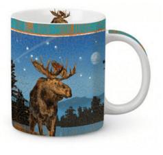 Moose In Lake Mug Old Forge Hardware Old Forge Hardware