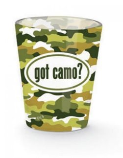 Camo Shot Glass Old Forge Hardware Old Forge Hardware